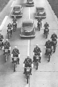 Motoros rendőrök