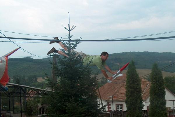 Ivády Gábor repül