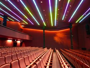 A Centrál Színház új nézőtéri fényei