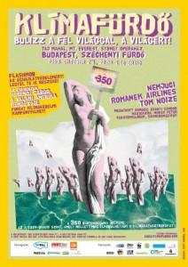 A Klímafürdő plakátja