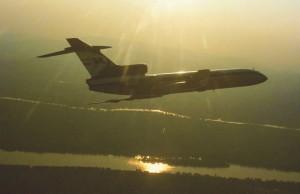 A Tu-154-es a Tu-134-esből