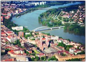 Szeged madártávlatból