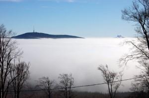 Galyatető ködben