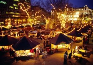 Karácsonyvárás a Vörösmarty téren