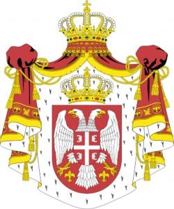 Szerbia címere
