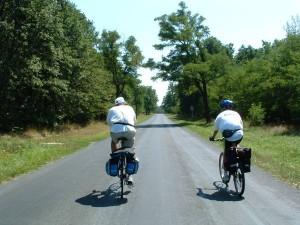 Kerékpáros páros