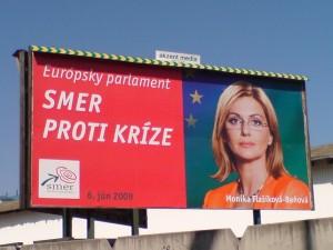 A Smer választási plakátja