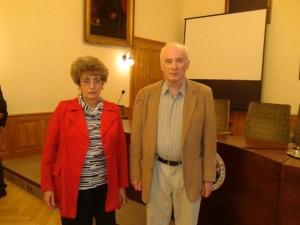 Zsoldos Olga és Szarvas István
