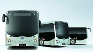 BYD villanybusz