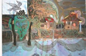 Festmény a Bálnában