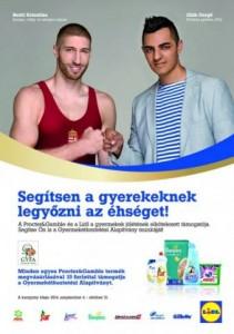 P&G és Lidl jótékonysági program