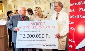 UniCredit adomány