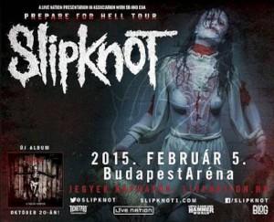 Slipknot a Sportarénában