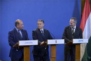 Suma Chakrabarti, Orbán Viktor és Andreas Treichl