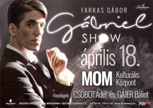 Gábriel-show a MOM-ban