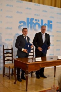 Mélykúti Tibor és Dr. Szabó László