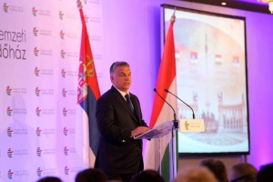 Orbán Viktor magyar miniszterelnök