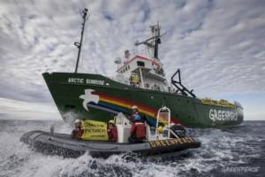 Greenpeace az Északi-sarkvidéken