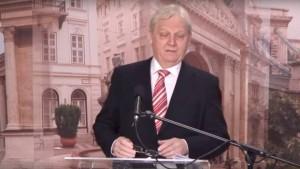 Tarlós István a Sajtóközpontban