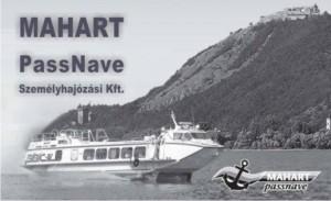 MAHART PassNave Visegrádnál