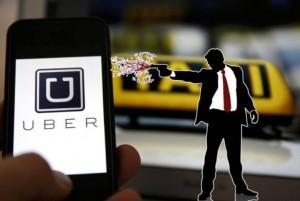 Tűz az Uberre
