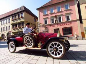 Opel Torpedó útban Russelsheim felé