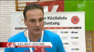 Szilágyi Zoltán vezetőedző, Vác