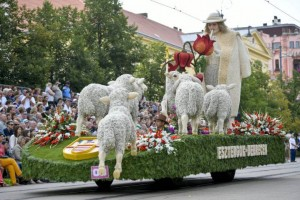 A nyáját terelő jó pásztor