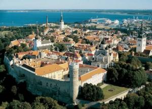 Tallinn madártávlatból