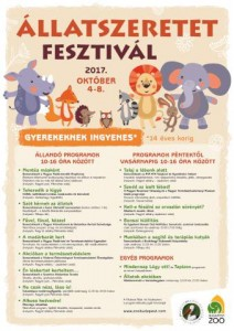 Állatszeretet-program plakátja