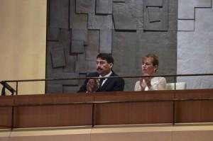 Áder János és Herczegh Anita