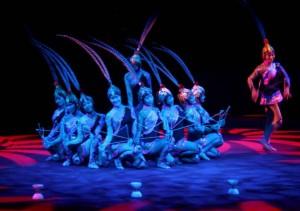 Kínai cirkuszművészek