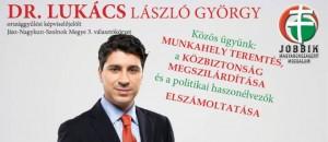 Dr. Lukács László György, Jobbik