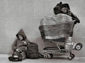 Hajléktalansors