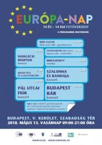 Európa-napi programok 2018.05.13.