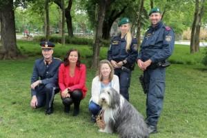 Bécsi rendőrök
