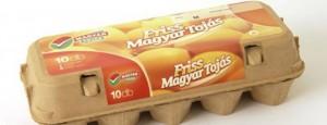 Friss magyar tojások