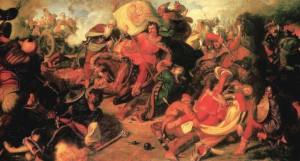 A Mohácsi csata Than Mór festményén