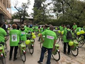 Limfóma-napi kerékpáros felvonulás