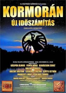 Kormorán koncertplakát
