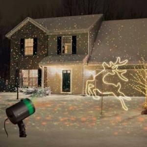 Karácsonyi lézerfények