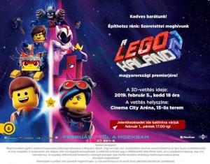 Lego-kaland 2 3D-ben
