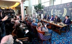 Sportújságírók a Nemzetiben