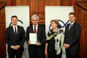 Energia-hatékony Intézmény-díjátadó