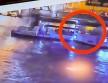 Margit híd alatti ütközés a Dunán