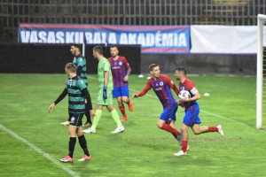 Vasas – Budaörs 3-3 a Vasas FC felvételén
