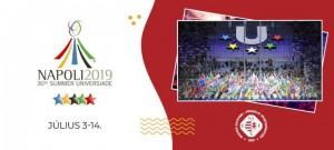 30. Universiade, 2019. Nápoly