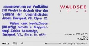 WALDSEE 1944 meghívó