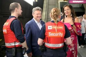Biztonsági szolgálat Votava Martin, PID felvételén