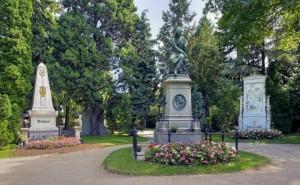 Beethoven, Schubert és Mozart síremlékei